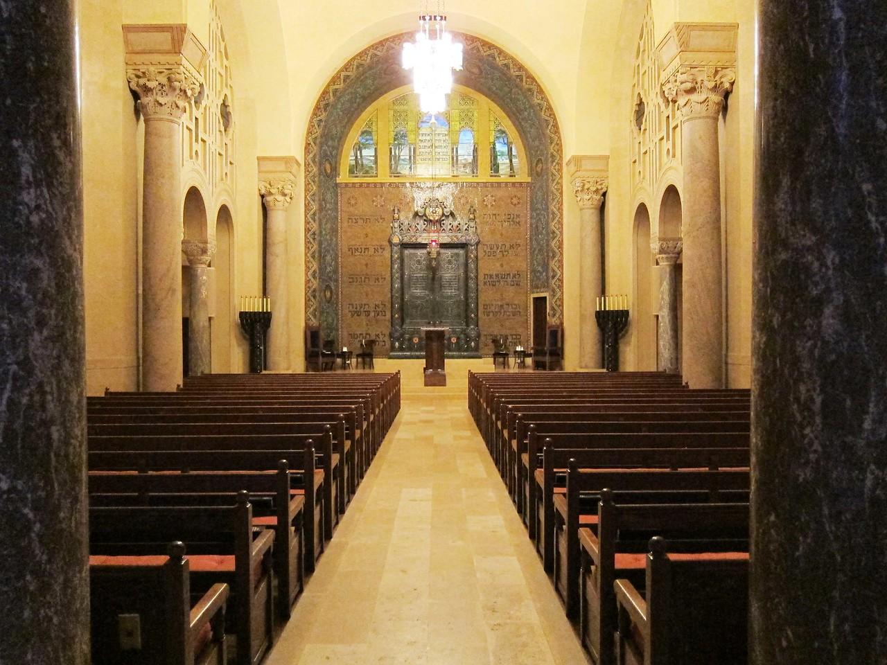 Beth-El Chapel seen from the chapel's vestibule.