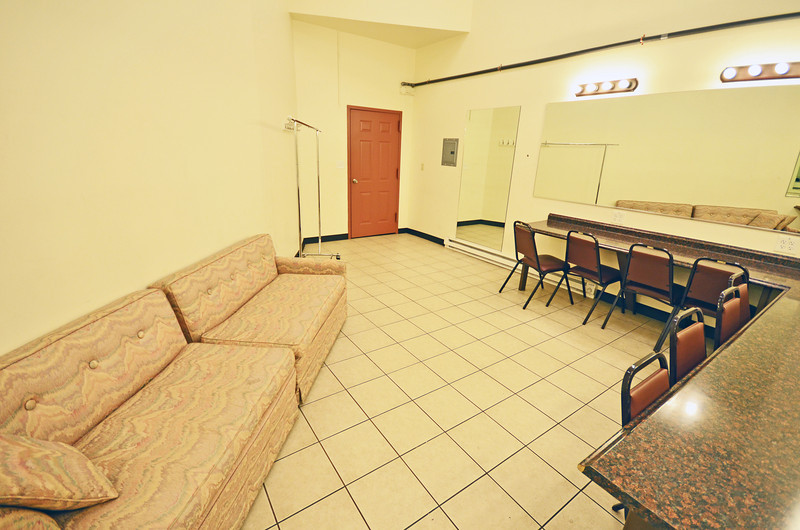 Copernicus Center theater dressing room 1