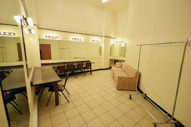 Copernicus Center theater - dressing room 2