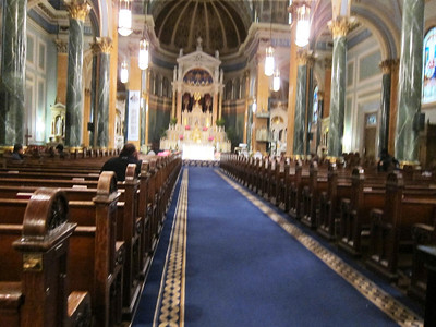 St Jean Baptiste at 76th and Lexington Ave_nave_center aisle