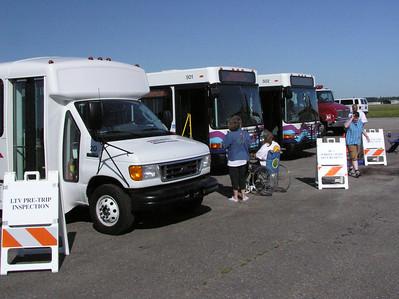Saturday - Wheelchair Securement & Pre-trip