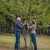Rod & Kathy - peach orchard