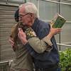 Kathy & Rod - farewell hug