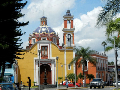 Churches Of Orizaba, Veracruz