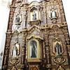 The Elaborate Gold Altar Piece