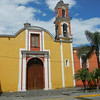 The Bright, Two Color 'Iglesia de Nuestra Senora de los Dolores