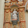 Detail Of Niche Artwork On The Facade