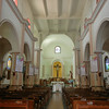 The Soothing And Simple Interior Of The Iglesia