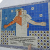 An Interesting Tile Mural On the Main Square