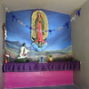 The Simple Interior With The Virgen