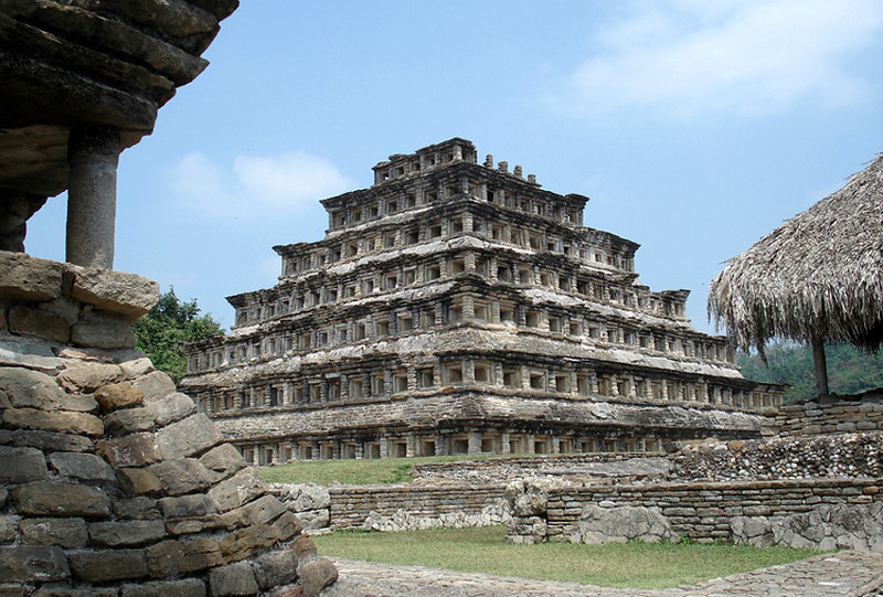 The Ruins Of El Tajin From Classic Veracruz Civilization