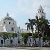 The Magnificent White Catedral Of Veracruz