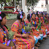 Girls From Oaxaca Waiting To Dance In A Show