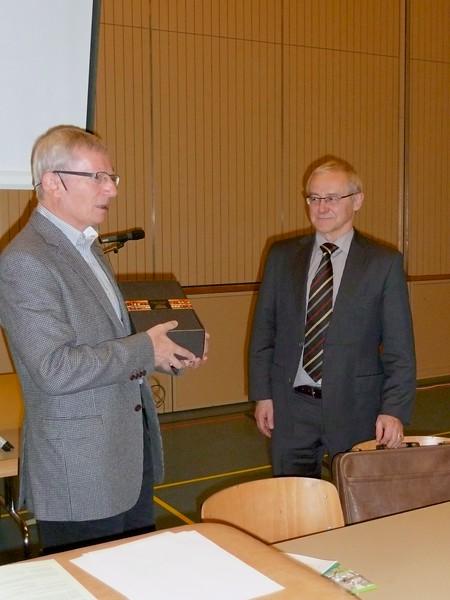 Josef Steiner Ettiswil, wurde neu Ehrenmitglied