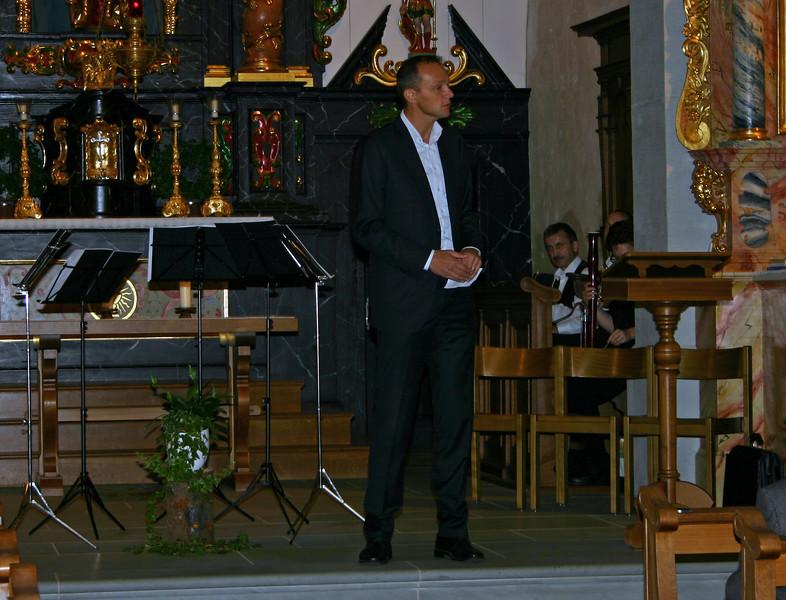 Guido Roos, Geschäftsführer REGION LUZERN WEST, führte durch die Veranstaltung