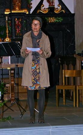 Hildegard Schär, Leiterin der Arbeitsgruppe Kultur REGION LUZEREN WEST, erläuterte den Zweck des Regionalen Förderfonds