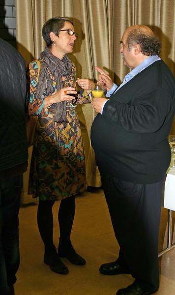 Hildegard Schär, Altbüron, und Hermenegild Heuberger, Hergiswil