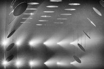 Art Installation  SKALAR, Kraftwerk Berlin, 27.01.-25.02.2018, s/w