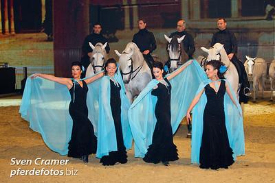 Equitana 2009 - Hop-Top-Show - Yeguada de la cartuja und Manolo Oliva