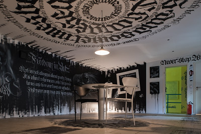 Wandelism, Berlin, 2018  / The Black & White Chamber by 75Scon and Paindesignart