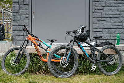 Mountain bikes in Verbier