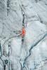 Glacier ice on Mont Fort Verbier