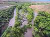 Monsoon flooding on the Verde River, 8/2/16.