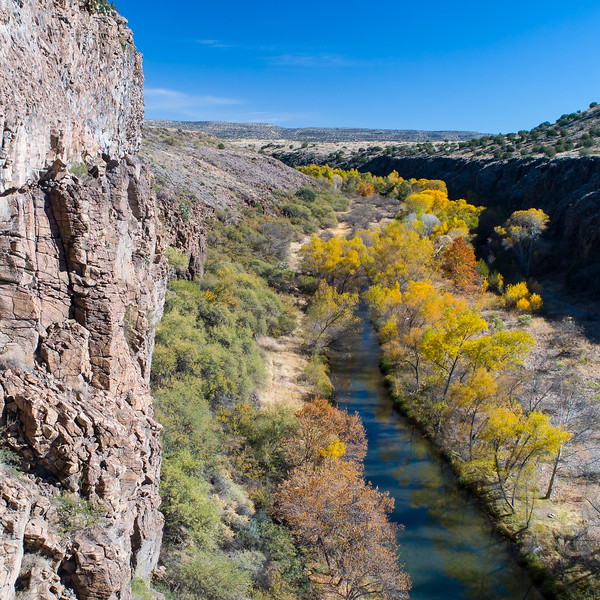 Fall day on the Verde River, 11/26/17. River at about 65 CFS