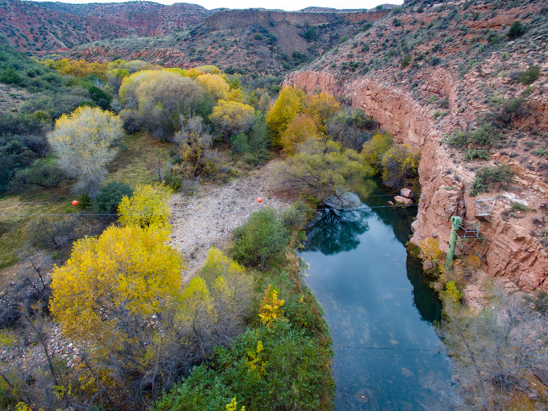Verde River at Box Canyon, 11/27/16