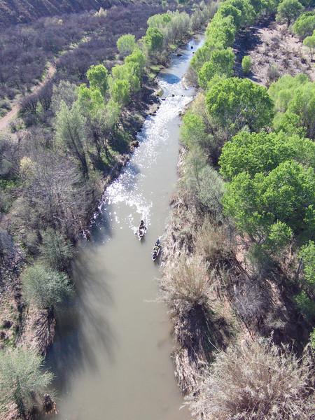 Verde River @ Clarkdale, 3/20/15