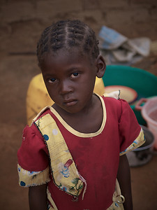 The African Child (Title from Camara Laye's book by the same name). Makumba Village, Kalomo District, Zambia. (Foto: Geir)