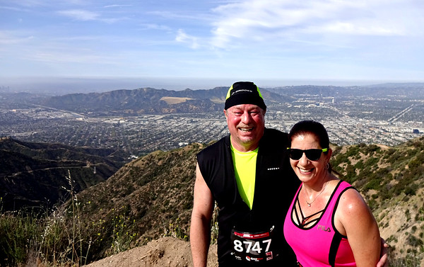Verdugo Mountains 10K Speed Hike and Trail Run, Glendale CA May 6, 2018