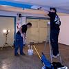 Målning av tak och balk
