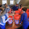 Growing Places in Leominster held a vermicomposting basics class on Saturday, February 9, 2019 at The Doyle Room at the Doyle Conservation Area in Leominster. Vermicomposting, or composting with worms, can be done in a worm bin in the comfort of your home. The class builds some worm bins to take home. SENTINEL & ENTERPRISE/JOHN LOVE