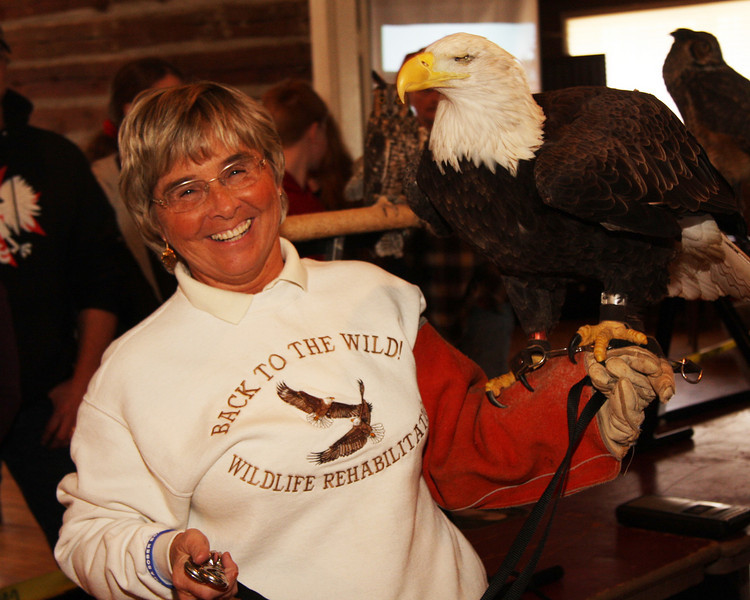 Mona Rutger, Director of the Wildlife Rehabilitaton & Nature Education Center in Castalia, Ohio. 419 684 9539, for more information or email mona@backtothewild.com
