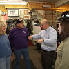 At Vermilion's popular bicycle shop, Bicycle Bill, Andy is talking to owners about another bicycle shop that is a believer in Facebook's business spin off, FANPAGE.