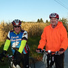 Frequent cycling to Oberlin and other towns by Mike Haun and Jim Hunt, both Vermilion residents.