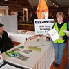 Dan Paluch, Volunteer at Lorain County Solid Waster Management display, with Pat Stein, volunteer ? and Tiffany  Barker, Solid Waste Specialist of Lorain County Solid Waste Management District.