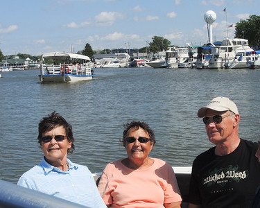 August 25 and 26th, 2016, Rune, from Visby on Gotland island in Sweden, visits American relatives Janet and Kathy