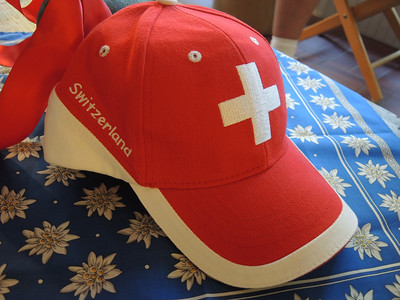 August 26, 2016...Chuck and Margaret host a Swiss  Dinner and slideshow.