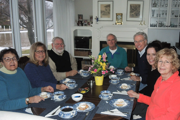 January 24, 2018. A fun Semla party in Vermilion.