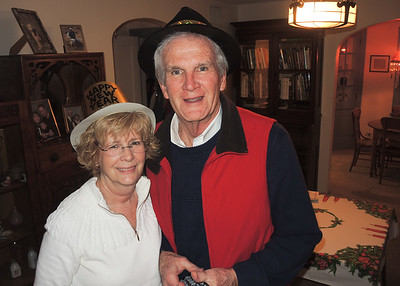New Year's Eve 2017 at Chuck and Margaret's !