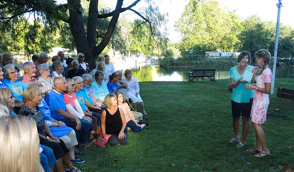 """September21, 2016,  """"Thank You Dinner"""" for all Volunteers at The Olympic Outing Club on the Vermilion River."""