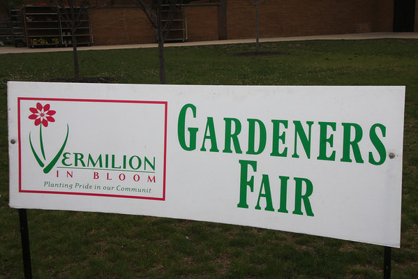 Vermilion,Ohio.7th Annual Gardeners Fair, April 21, 2012. Geting Better and Better.