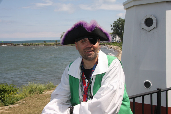 July 25, Christmas in July in Vermilion with Pirate Willie