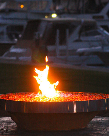 100 Years..The Vermilion Boat Club...Our brand new Fire Pit