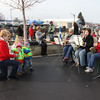 Vermilion residents Schaefers with their grandkids and family enjoying the music a little closer...