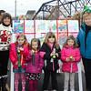 Kindergarten: Cali Rose Wilson, Lillian Howell, Emalynn Mullis and Margaret Link