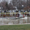 Jaws is now on the main part of the Vermilion River and going upstream to its dock, Valley Harbor Marina and George Phillips' job is done for now.