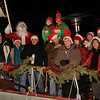 In background, to the right of Santa, is Elf # 1, aka Bill McCarthy and Elf # 3....